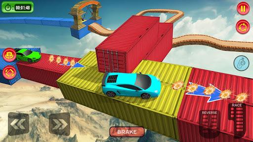 Crazy Car Driving Simulator: Impossible Sky Tracks 2.0 Screenshots 6