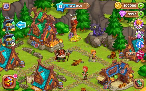 North Dragon Island - build Vikings Farm  screenshots 17