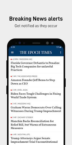 The Epoch Times: Live & Breaking News  screenshots 7