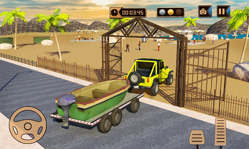 Camper Van Truck Simulator: Cruiser Car Trailer 3D 1.13 screenshots 5