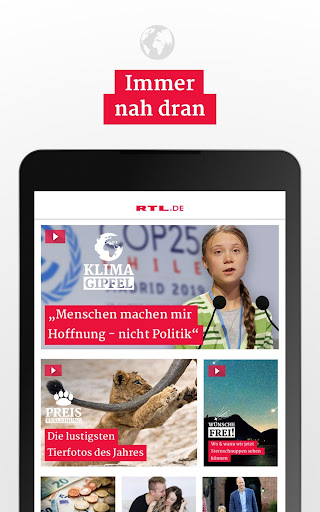 RTL.de - Aktuelle Nachrichten & Videos 5.5.1 screenshots 5