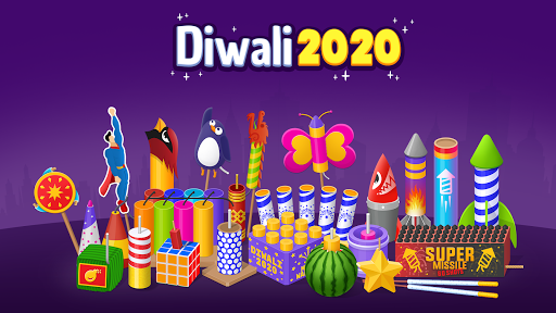 Diwali Cracker Simulator- Fireworks Game 4.02 screenshots 1