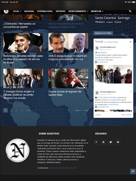 Screenshot 19 de Periódico El Nacional para android