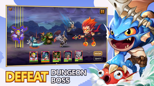Heroes Legend - Idle Battle War APK MOD – ressources Illimitées (Astuce) screenshots hack proof 1