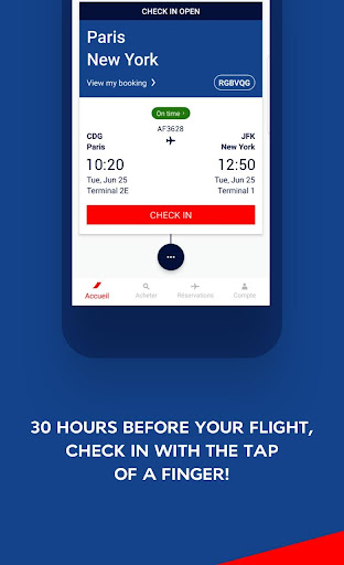 Air France - Airline tickets 5.1.0 Screenshots 2