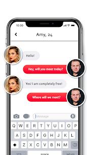 Flirt chat with beautiful women, quick meet 3