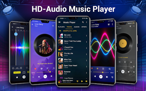 Music Player - Bass Booster & Free Music android2mod screenshots 1