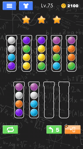 Sort Color Ball Puzzle - Sort Ball - Sort Color  screenshots 1