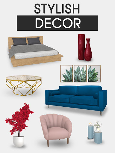 Home Makeover: Decorating Games & House Design Apkfinish screenshots 11