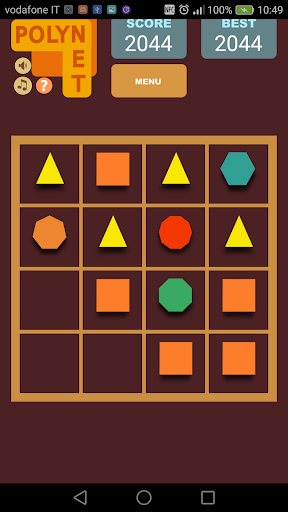 Polynet :  poligonal puzzle game 1.19 screenshots 1