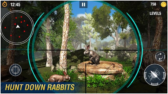 Wicked Rabbit Hunting Sniper Free Shooting Games Hack Cheats (iOS & Android) 2