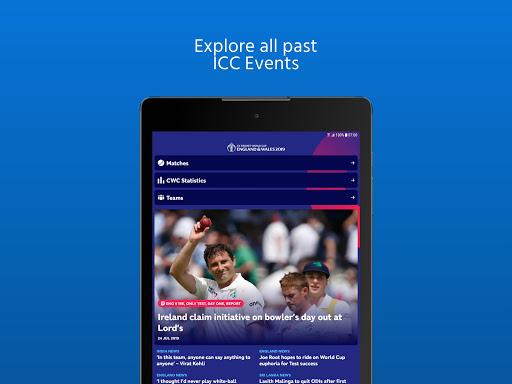 ICC - Live International Cricket Scores & News  screenshots 13