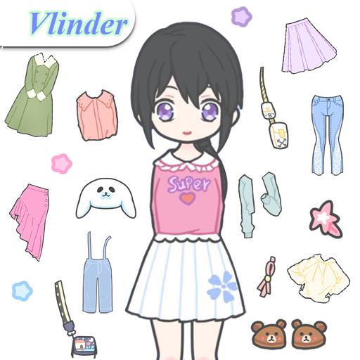 Vlinder Girl: Dress up games