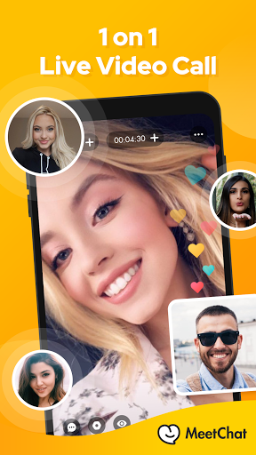 Meetchat-Social Chat & Video Call to Meet people 8.3.5 Screenshots 3