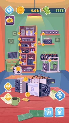 Bitcoin mining: life tycoon, idle miner simulator  screenshots 2