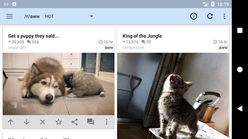 rif is fun golden platinum for Reddit android2mod screenshots 5