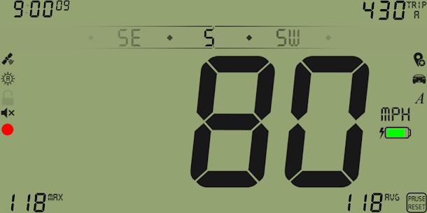 Free DigiHUD Pro Speedometer 5