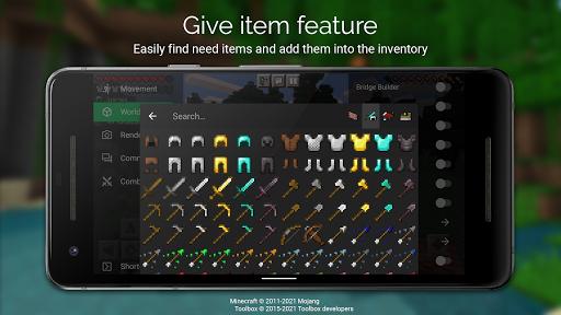 Toolbox for Minecraft: PE Apkfinish screenshots 2