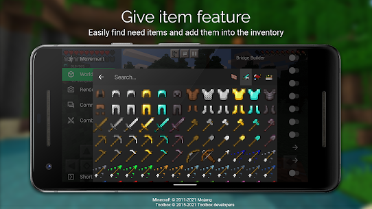 Toolbox for Minecraft: PE 5.4.18 2