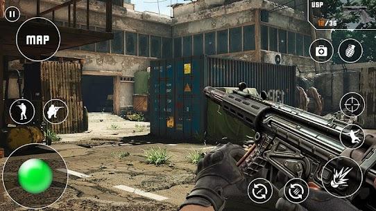 Fps Critical Action Strike Mod Apk (God Mode/Dumb Enemy) 5