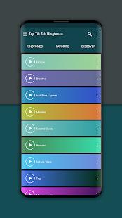 Top Ringtones from Tik music 1.3 Screenshots 5