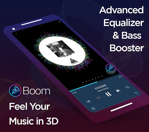Boom: Music Player, Bass Booster and Equalizer 2.4.0 Screenshots 1