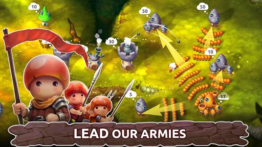 Mushroom Wars 2: Real-time war strategy ud83cudf44 Defense  screenshots 5