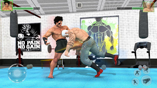 Bodybuilder Fighting Games: Gym Trainers Fight  screenshots 3