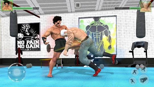 Bodybuilder Fighting Games: Gym Trainers Fight Mod Apk 1.3.4 (Unlimited Money) 3