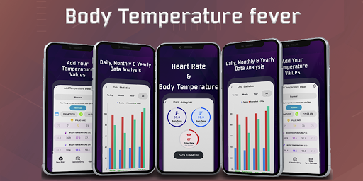 Thermometer For Fever - Body Temperature modavailable screenshots 1