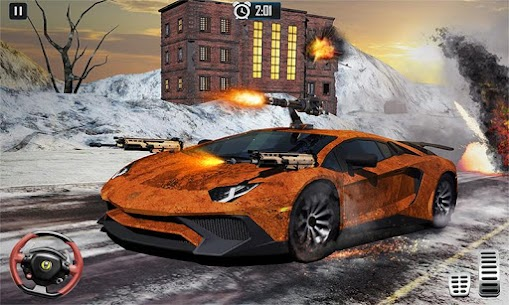 Furious Death Car Snow Racing: Armored Cars Battle Hack Online (Android iOS) 1