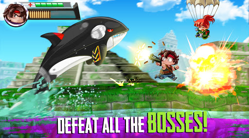 Ramboat 2 - Run and Gun Offline FREE dash game screenshots 7