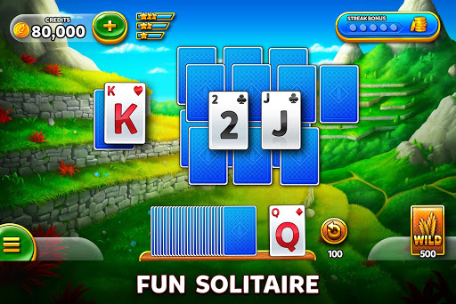 Solitaire Grand Harvest - Free Tripeaks Solitaire screenshots 1