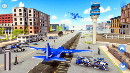 US Police ATV Quad Bike Plane Transport Game 1.4 Screenshots 14