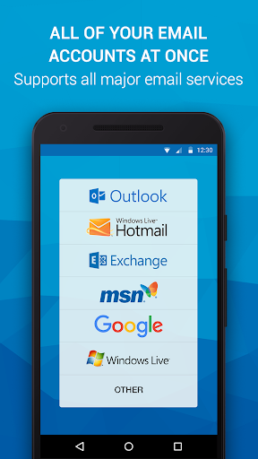 Email App for Any Mail 11.13.1.29164 Screenshots 1