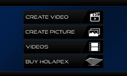 Holapex Hologram Video Maker Screenshot