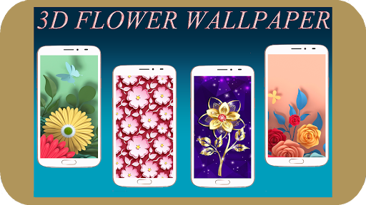 3D Flower Wallpaper 1.04 screenshots 1