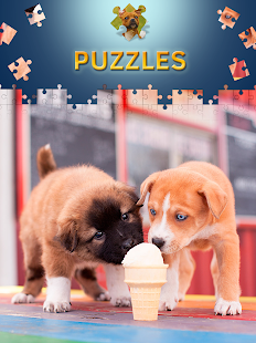 Dog and Puppys Jigsaw Puzzles