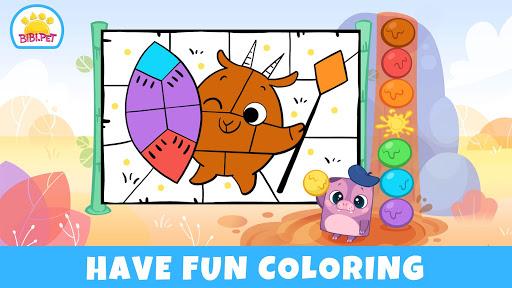Bibi Savanna Animals games for kids 1.0.1 screenshots 2