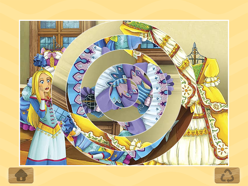 Princess Puzzles and Painting apkpoly screenshots 6