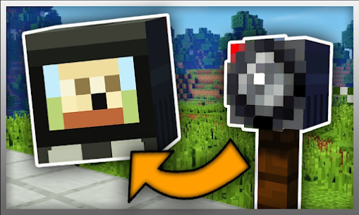 Security Camera for Minecraft PE Game Hack Android and iOS 3