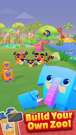 Spin a Zoo - Tap, Click, Idle Animal Rescue Game!  screenshots 15