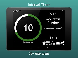 Go! Workouts: Interval Timer & Exercises (HIIT)