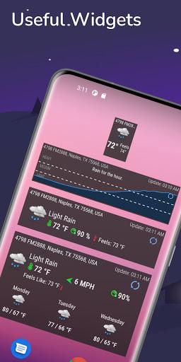 Hyperlocal Weather (Dark Sky Powered by) & Radar apktram screenshots 6