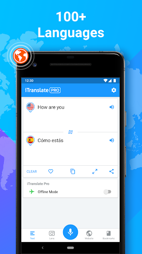 iTranslate Translator & Dictionary 5.6.5 Screenshots 1
