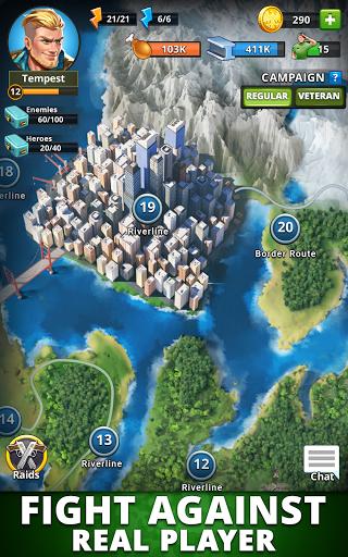 Puzzle Combat: Match-3 RPG Apkfinish screenshots 13