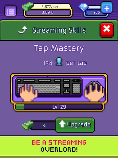 xStreamer - Livestream Simulator Clicker Game apkpoly screenshots 15
