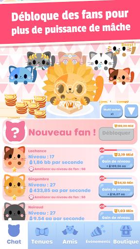 Code Triche Greedy Cats: clique chaton (Astuce) APK MOD screenshots 3