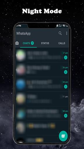 Dark Mode for Whatapp modavailable screenshots 3