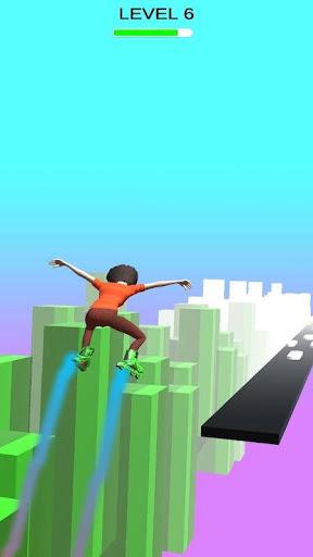 Sky Parkour Roller 8 screenshots 5